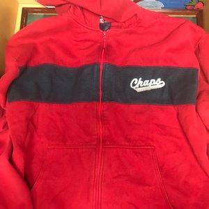 Vintage Chaps-RalphLauren Fleece-lined Jacket SzXL